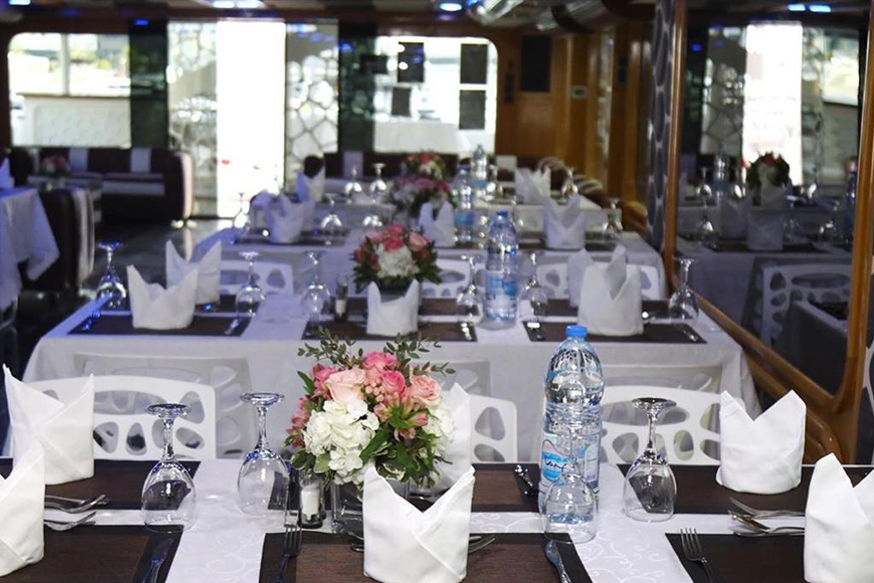 Mega Yacht Dinner Cruise