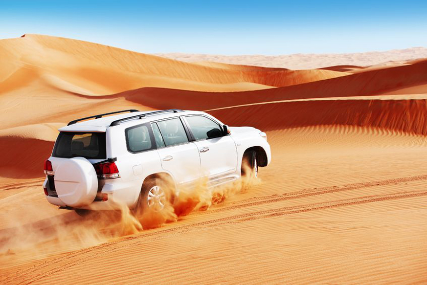 Evening Desert Safari with Centralized Transportation