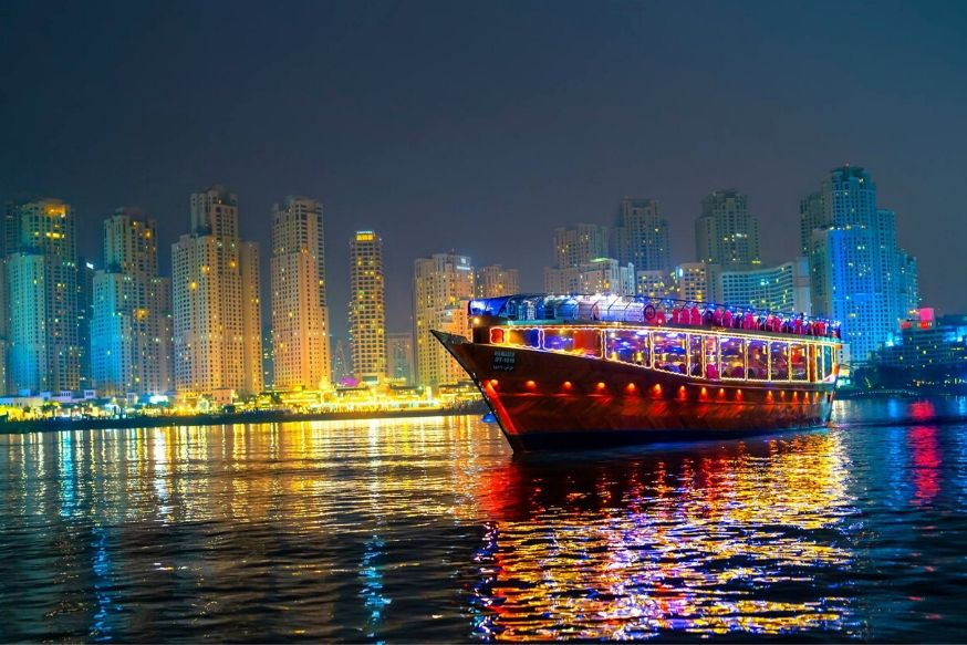 5 Star Tour Dubai Dhow Cruise Dinner