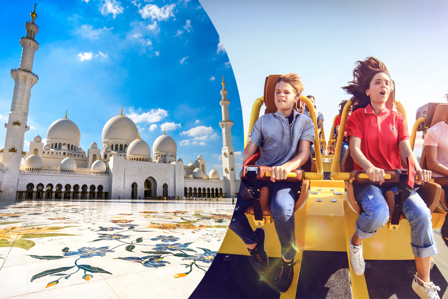Abu Dhabi City Tour with Ferrari World Tickets