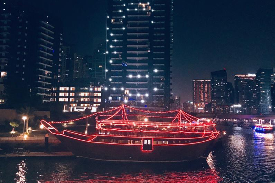 Mega Dhow Dinner Cruise