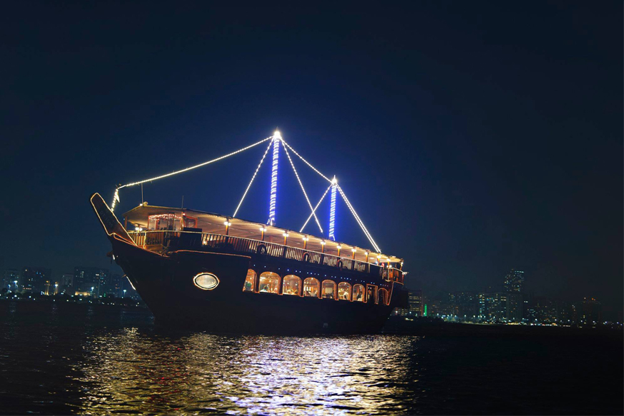 5 Star Dhow Cruise Dinner