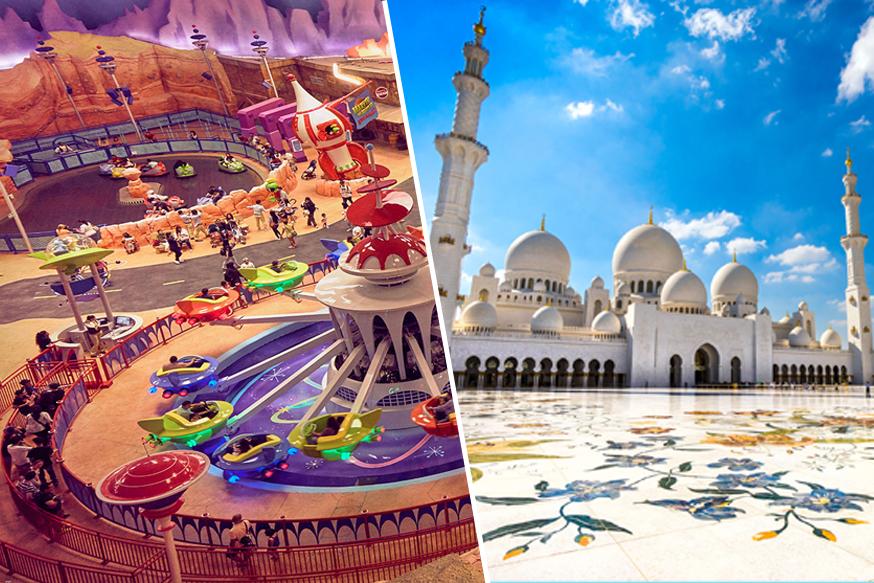 Abu Dhabi City Tour with Warner Bros. World Tickets