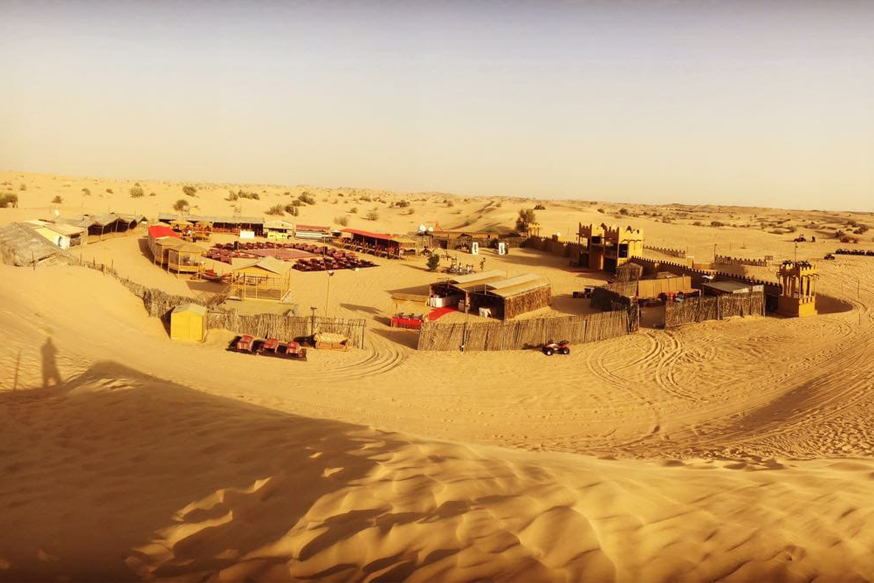 Desert Safari with BBQ Dinner and Shows