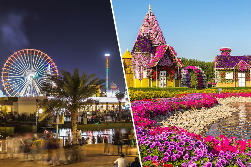 Global Village and Miracle Garden Combo