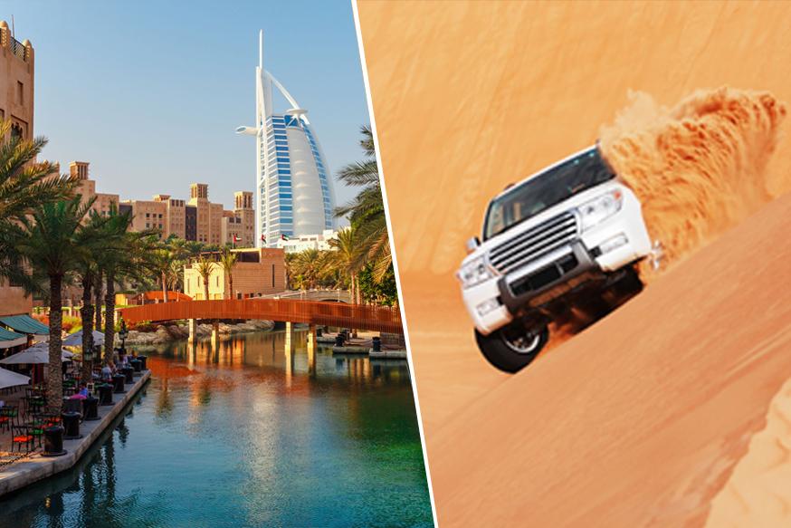 Desert Safari + Dubai City Tour Combo