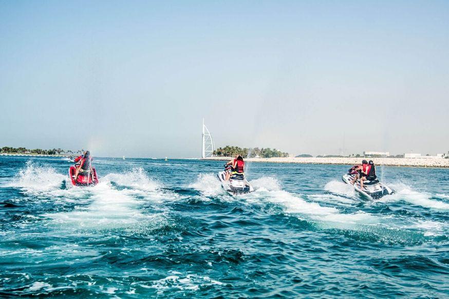30 mins Jet Ski Ride - Jumeirah
