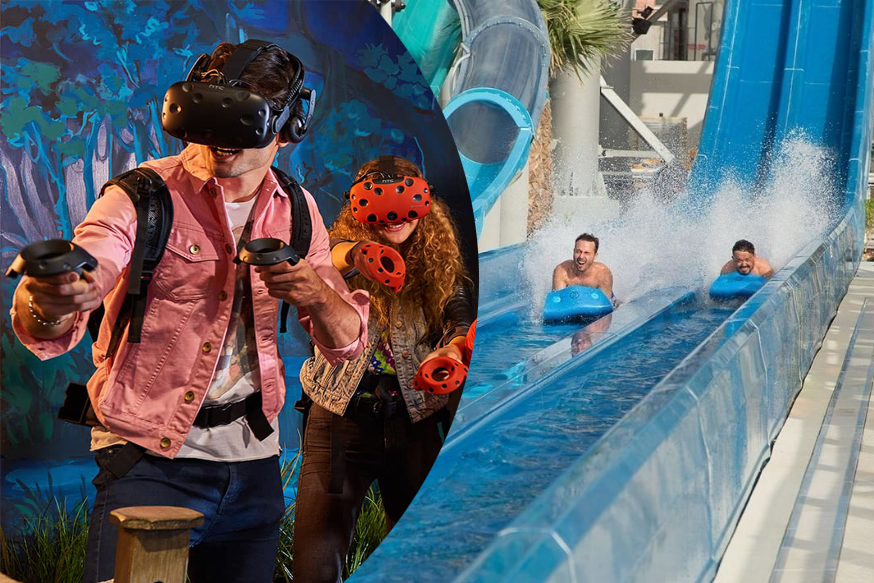 Laguna Water Park + VR Park Super 7